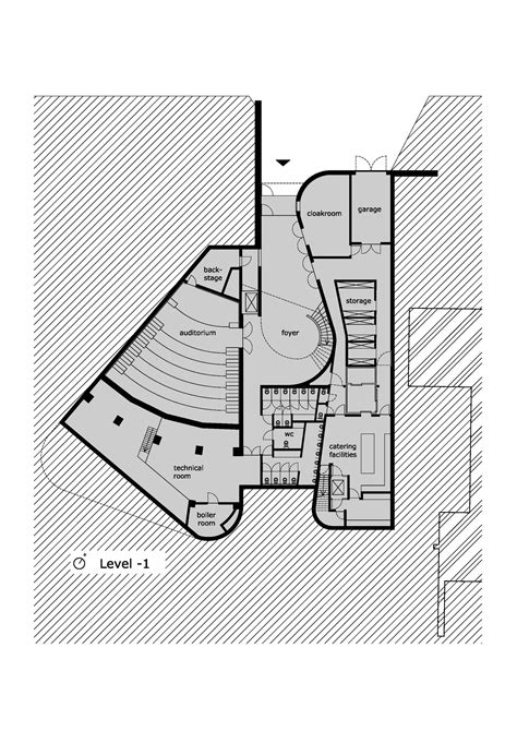 auditorium floor plans gallery of auditorium az groeninge kortrijk dehullu