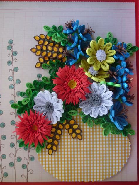 Craft Work Paper Flowers - this is my work quilling by bmiletic
