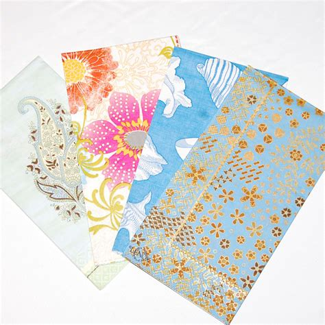 Decoupage Using Paper Napkins - decoupage napkin set 4 paper napkins for decoupage collage