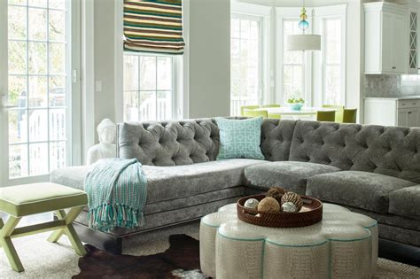 grey sectional living room photos hgtv