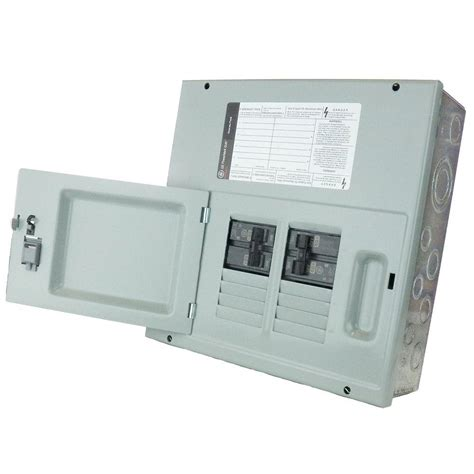 ge 60 8 space 120 240v single phase 3 wire surface