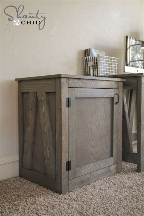 Desk As Nightstand by Free Woodworking Plans Diy Desk Or Nightstand