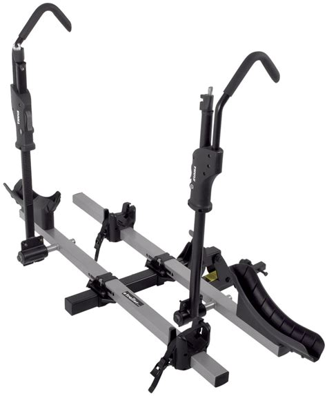 Thule 4 Bike Hitch Rack With Lock by 4 Inch Hitch Wheel Only Mount Class 1 Class 2 Tilt Away
