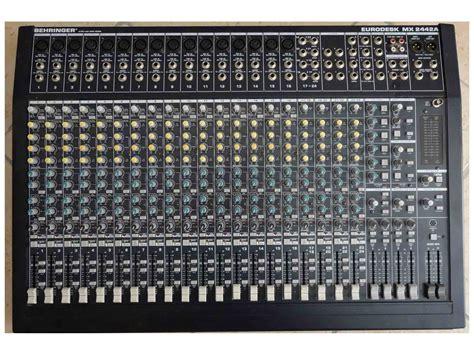 Mixer Eurodesk behringer eurodesk mx2442a image 107629 audiofanzine