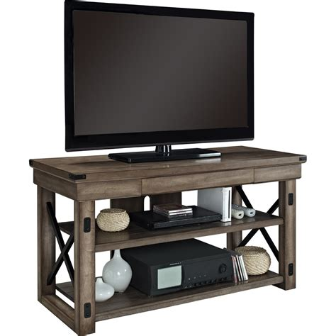 wood tv stands rustic wood tv stand in tv stands