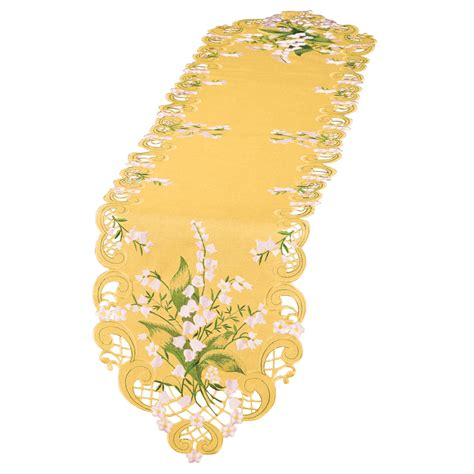 Wedding Bell Flowers by Wedding Bell Flowers Table Linens Yellow By Collections