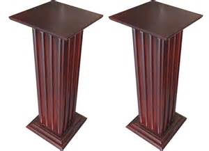 Pedestals Pair Of American Art Deco Pedestals Modernism