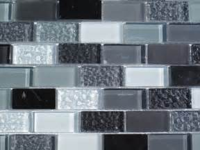 Gray Glass Tile Kitchen Backsplash Gray Subway Glass And Mix Tile 33 Sq Ft Kitchen Backsplash Bathroom Sh Ebay