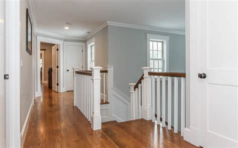 Cape Cod Wainscoting by Cape Cod New Home Building Crwatson Stair Railing Upstairs