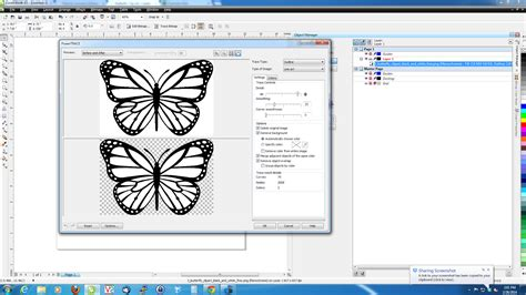corel draw x5 remove white background thisoldgeek coreldraw prepare clip art for laser cutting
