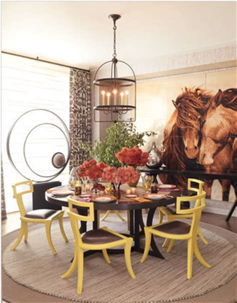 Equestrian Dining Room Decor Haus Design May 2011