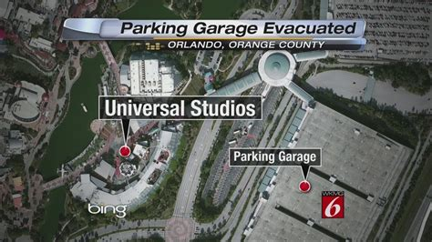 Universal Parking Garage by Universal Orlando Parking Garage Reopens After Suspicious
