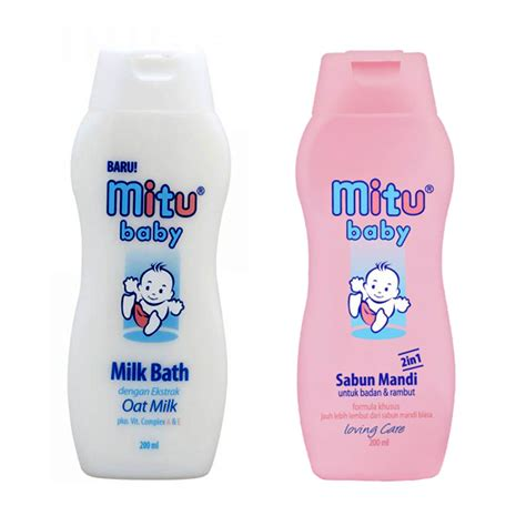 Sisir 2in1 Bayi By Zen Baby mitu baby sabun mandi 2in1 milk bath bottle 200ml