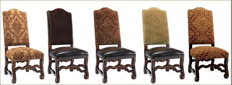 Tuscan Style Dining Chairs Hayley Dining Chair Collection Upholstered Leather Dining Chair Tuscan Dining Chair