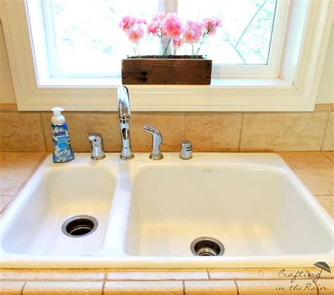 how to clean a white sink hometalk