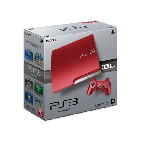 console ps3 ps3 320gb console limited edition 2 controllers