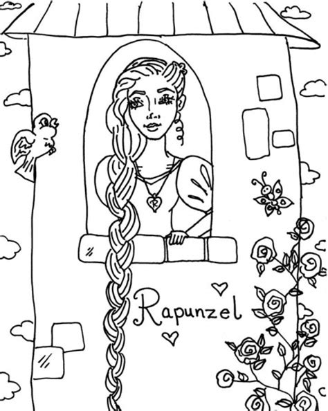 free printable coloring pages rapunzel rapunzel coloring pages best coloring pages for