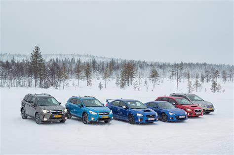 subaru winter bilder subaru winter schnee autos