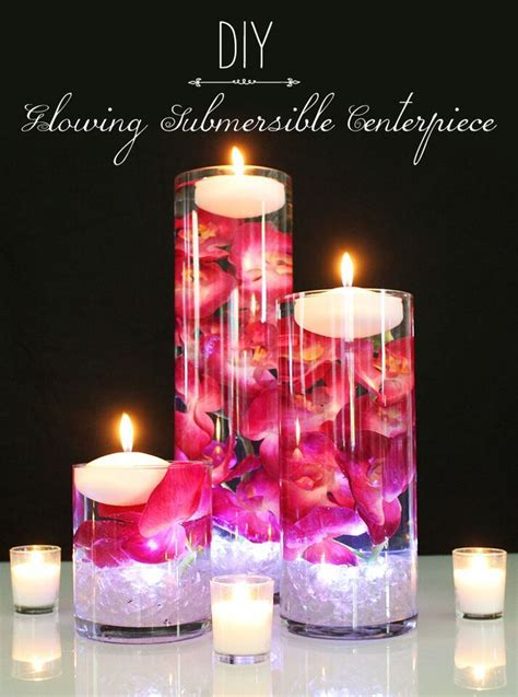 how to make a centerpiece with candles how to make a floating candle centerpiece wedding