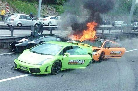 Lamborghini Unfall by Galerie Lamborghini Gallardo Brand Bilder Und Fotos