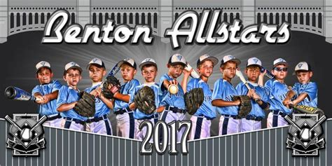22 Best Sports Photoshop Templates Images On Pinterest Role Models Template And Templates Softball Team Banner Templates