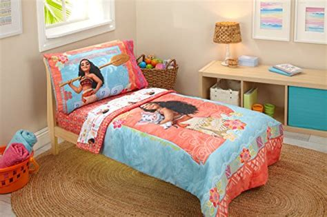 disney moana toddler  piece bedding set buy   uae baby products products