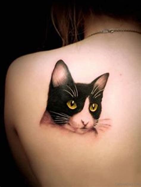 tattooed cats 82 fanciful cat tattoos for back