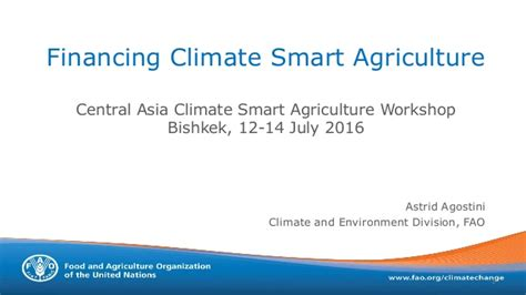 financing education in a climate of change 12th edition financing climate smart agriculture