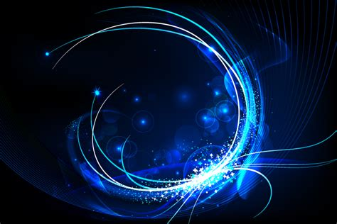 design background effect blue light effect background free vector graphic download