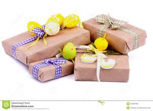 Gift Wrapping Styles - easter gifts royalty free stock photo image 34304465