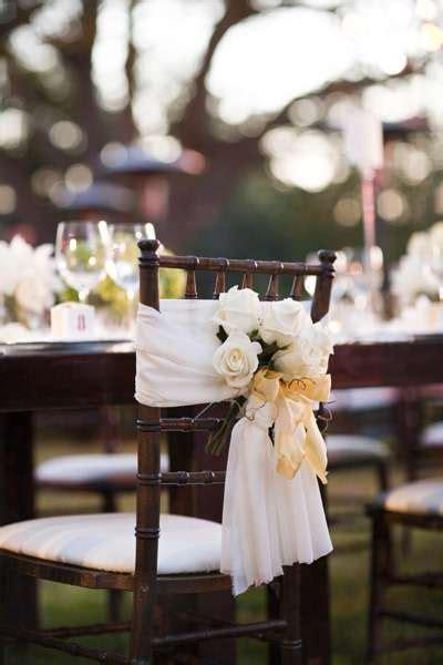 Stuhldekoration Hochzeit by Loads Of Chair Swag Wedding Chair Decoration Ideas