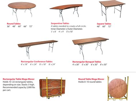 Event Table by Image Gallery Event Table
