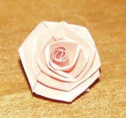 Folded Paper Roses - paper roses
