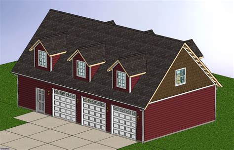 Barn Plan by Beys Barn Plans Loft Apartment
