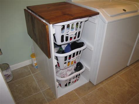 Laundry Room Folding Table Ideas White Laundry Cabinets Shorter Brook Laundry Basket Dresser With Folding Table Diy