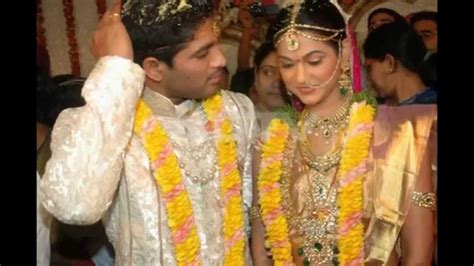 Marriage Pictures by Wedding Anniversary Wishes To Allu Arjun Sneha Reddy