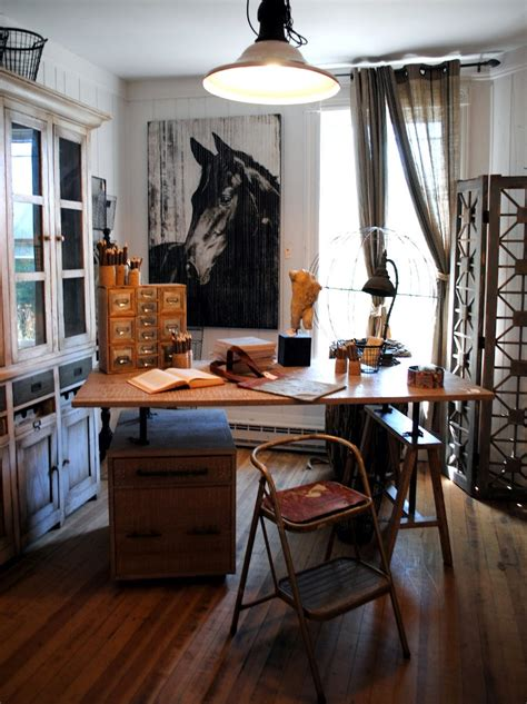 at home design 27 easy and practical industrial home office design ideas