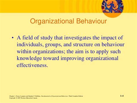 challenges for managers in organizational behaviour introduction of organizational behavior