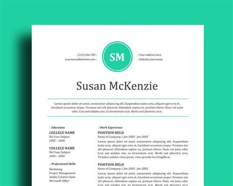edit resume template word 2 page resume template cover letter easy to edit in
