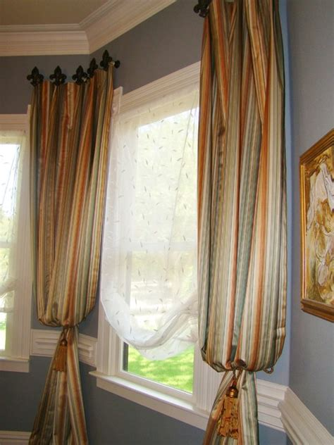 bishop sleeve curtains custom drapery panels traditional window treatments