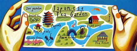 japanese garden san francisco map japanese tea garden in san francisco california by nata