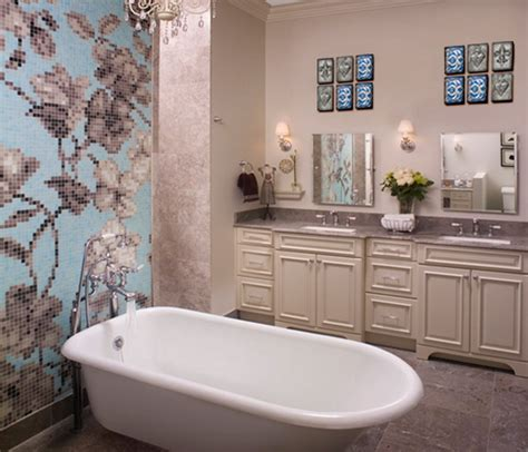artistic bathrooms bathroom wall art decorating ideas home constructions
