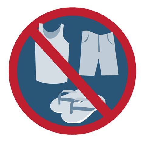 no slippers allowed sign registration information idem singapore
