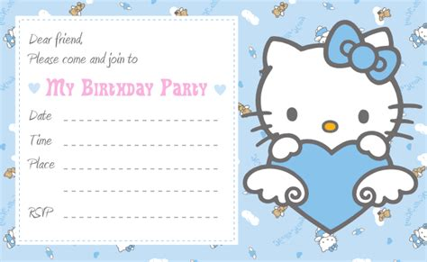 birthday invitation card template hello free printable hello invitation birthday