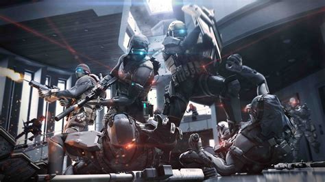 full hd wallpaper ghost recon phantoms soldier squad laser