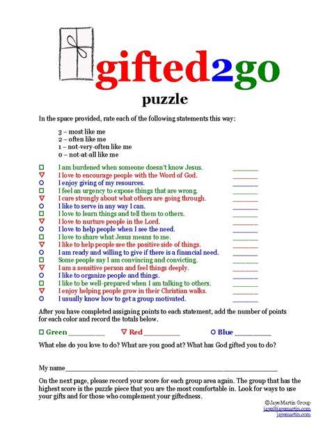 printable spiritual gifts questionnaire spiritual gifts inventory youth printable gift ftempo