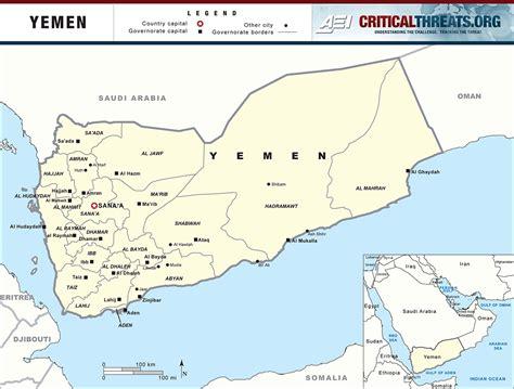 yemen map houthi