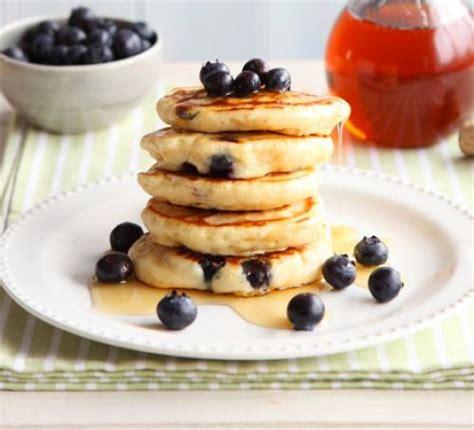 blueberry pancake recipe blueberry lemon pancakes recipe food