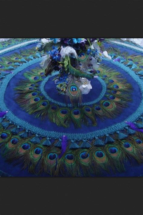 peacock tree skirt peacocks pinterest