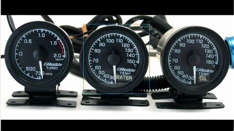 Greddy Gauges Water Temp By Kkauto 3x 52mm greddy gauges boost water temperature